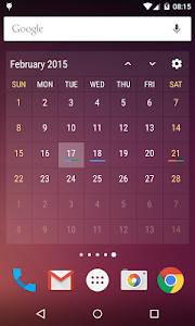 Event Flow Calendar Widget v1.5.4