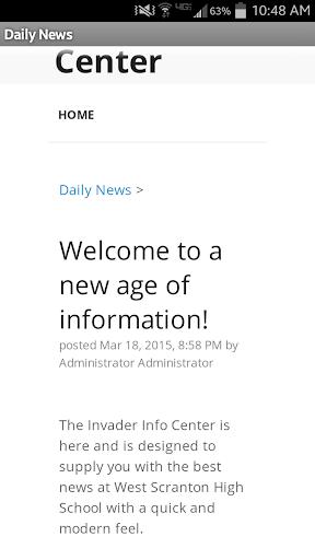 Invader Info Center 4.0 screenshots 2