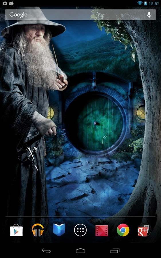 The Hobbit Live Wallpaper - screenshot