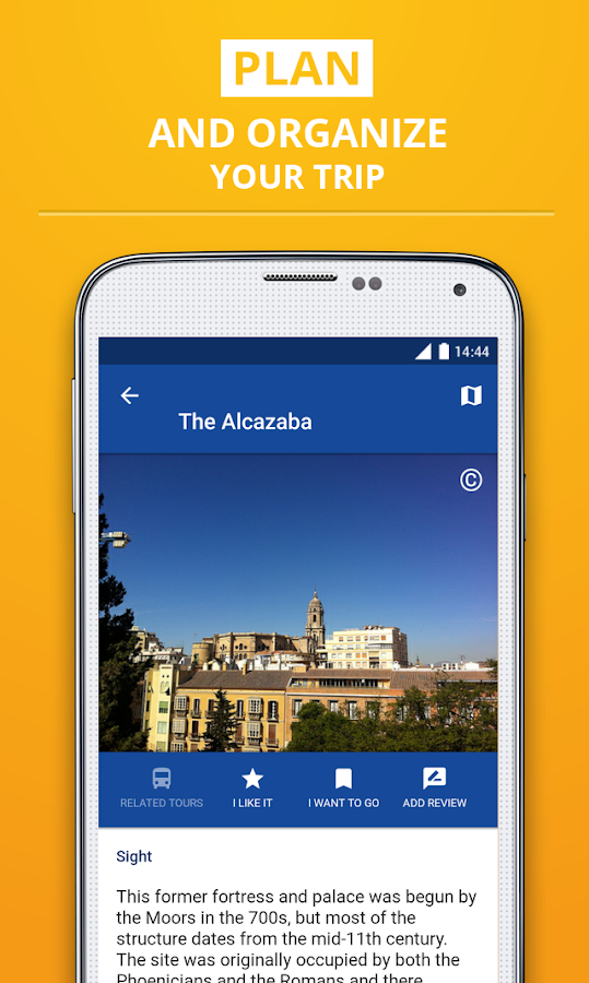 Málaga Travel Guide- screenshot