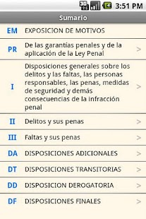 Spanish Penal Code- screenshot thumbnail