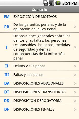 Spanish Penal Code- screenshot