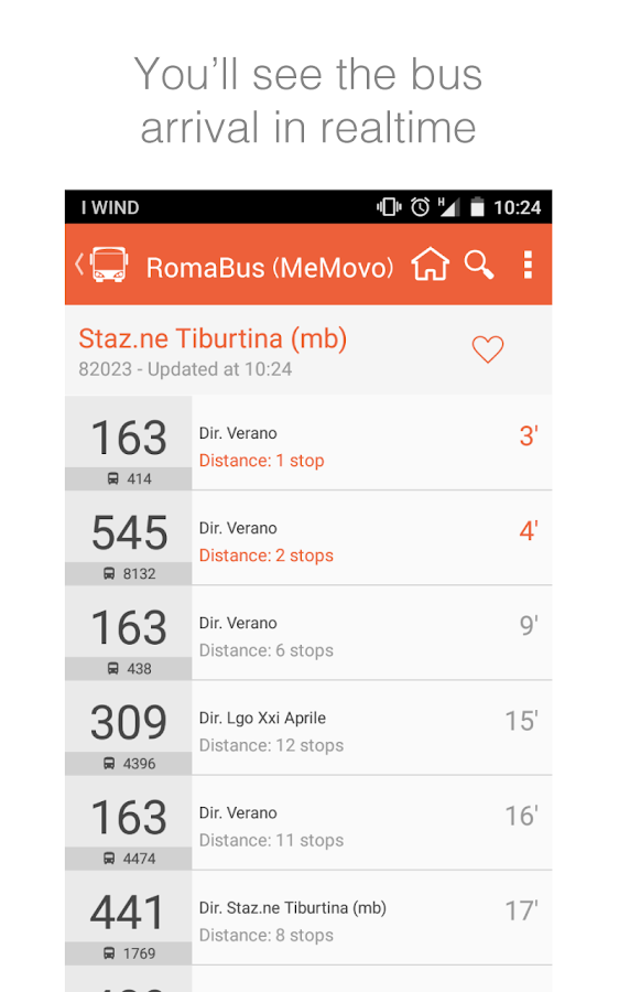 Roma Bus Atac Bus Departure Android Apps On Google Play