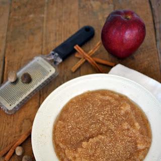 Best Homemade Slow Cooker Applesauce.