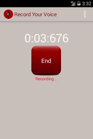 Record Your Voice