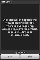 Screenshot of 1200 ELECTRICIAN TERMS QUIZ