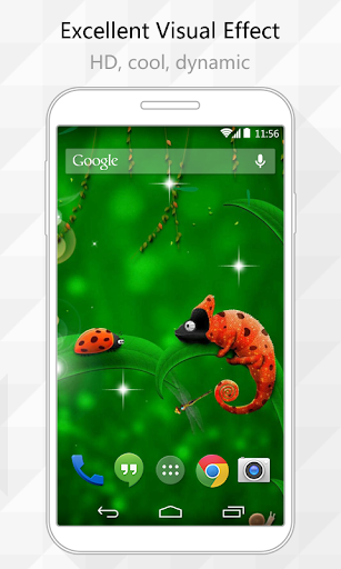 Cute Insects Live Wallpaper