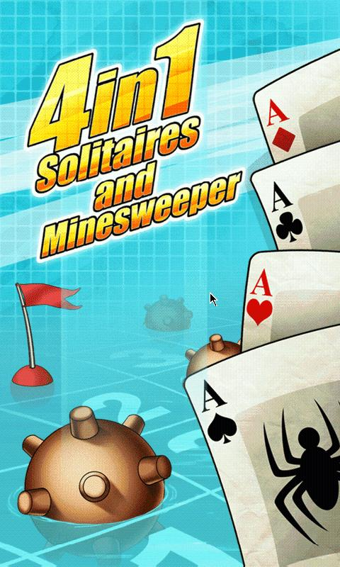 Solitaires & Minesweeper Free - screenshot