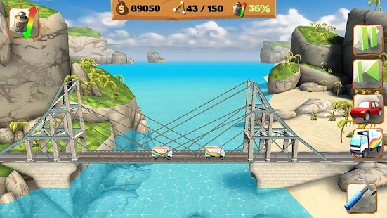Bridge Constructor Playground FREE- screenshot thumbnail