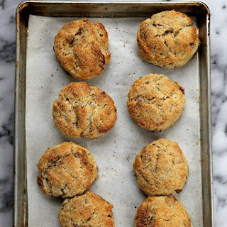 Buttered Pecan Biscuits.