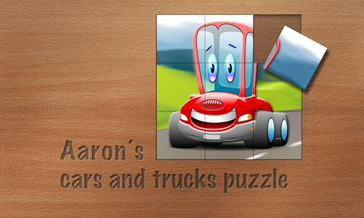 Aaron's cars and trucks puzzle