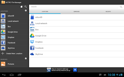 ASTRO File Manager with Cloud Screenshot 1