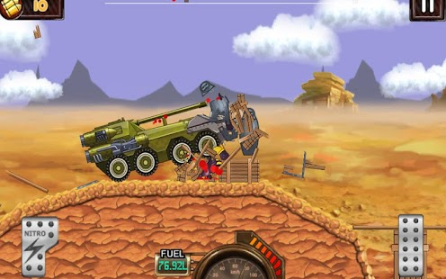 Monster Car Hill Racer Screenshot 2