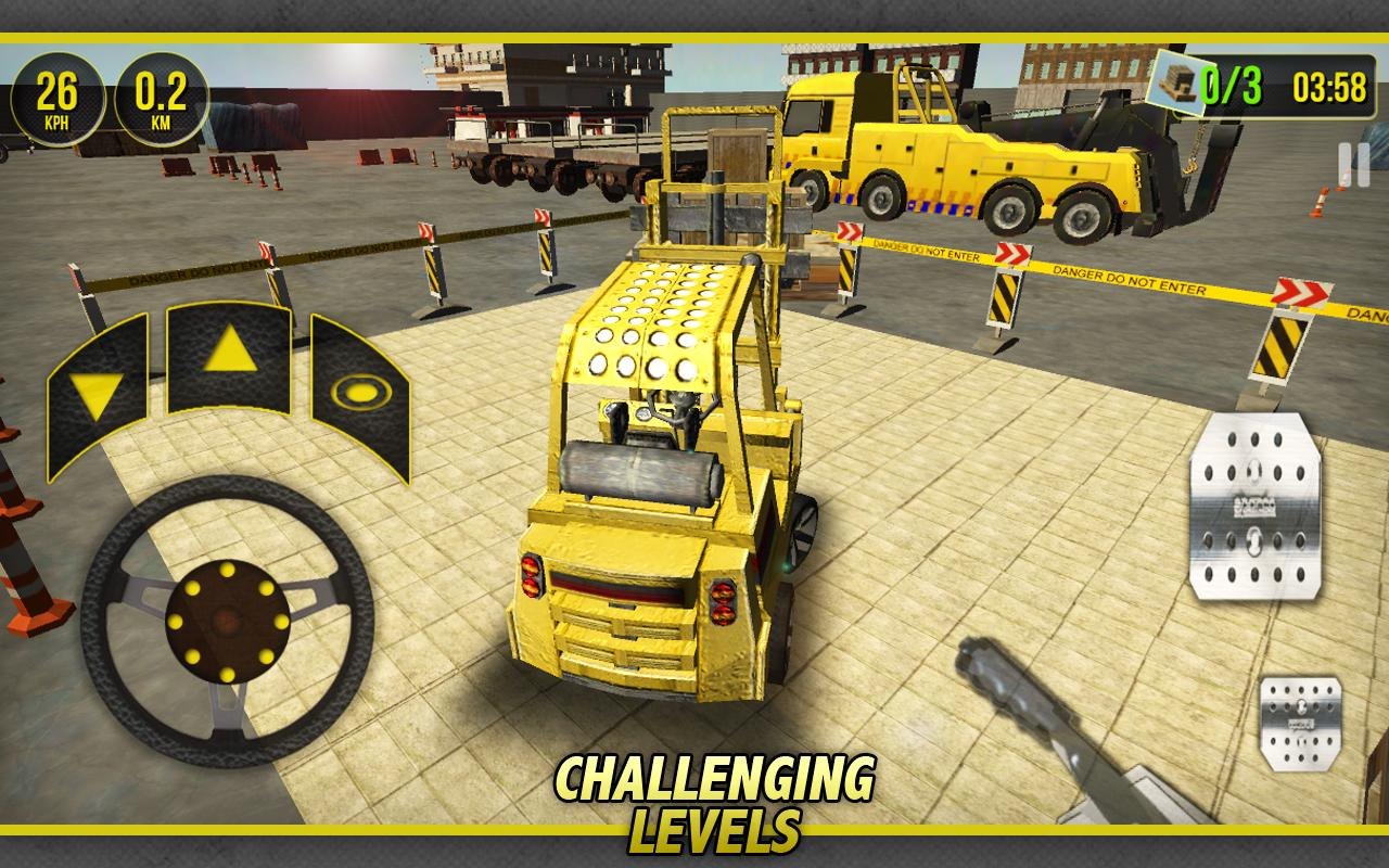 Forklift Simulator 3D- screenshot