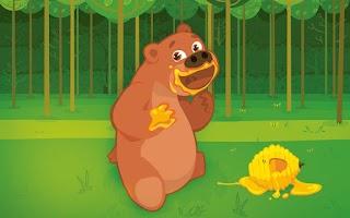 Screenshot of Bita e os Animais - Floresta