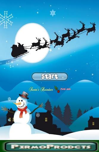 Santas Reindeer Match