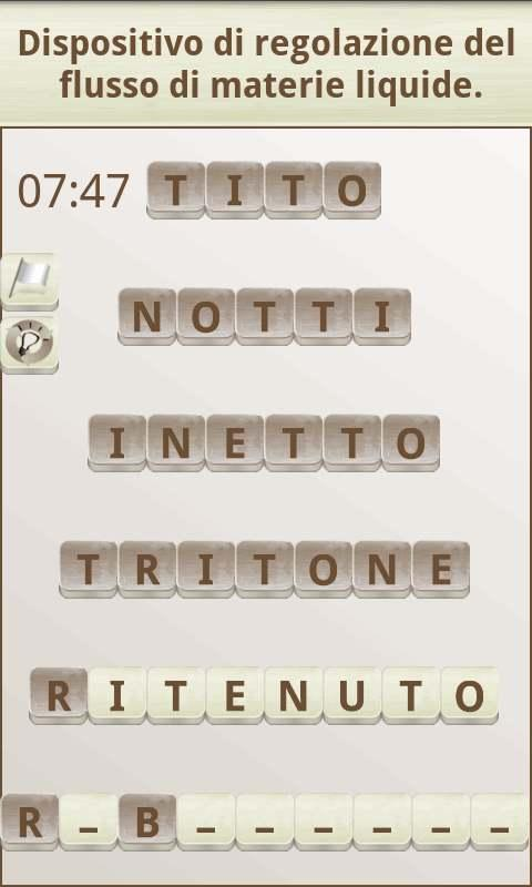 Gioco di parole in italiano- screenshot
