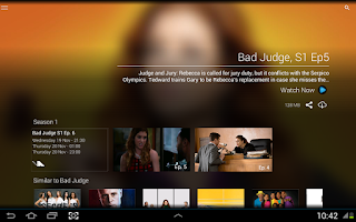 Screenshot of DStv Now