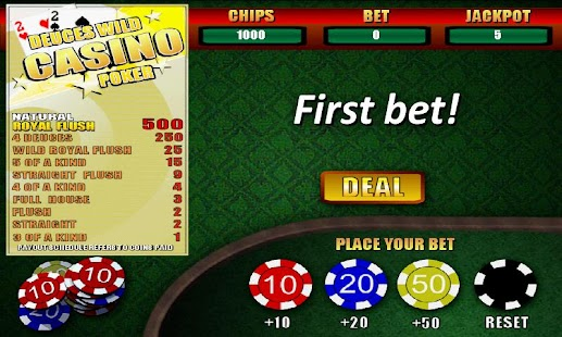 Deuces Wild Casino Poker - screenshot thumbnail