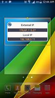 Screenshot of IP Discovery - Widget
