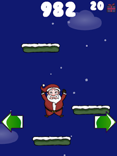 Doodle Santa - Christmas Jump - screenshot thumbnail