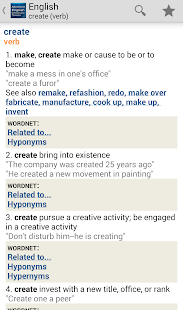 Advanced English & Thesaurus - screenshot thumbnail