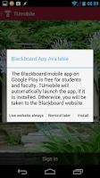 Screenshot of TUmobile