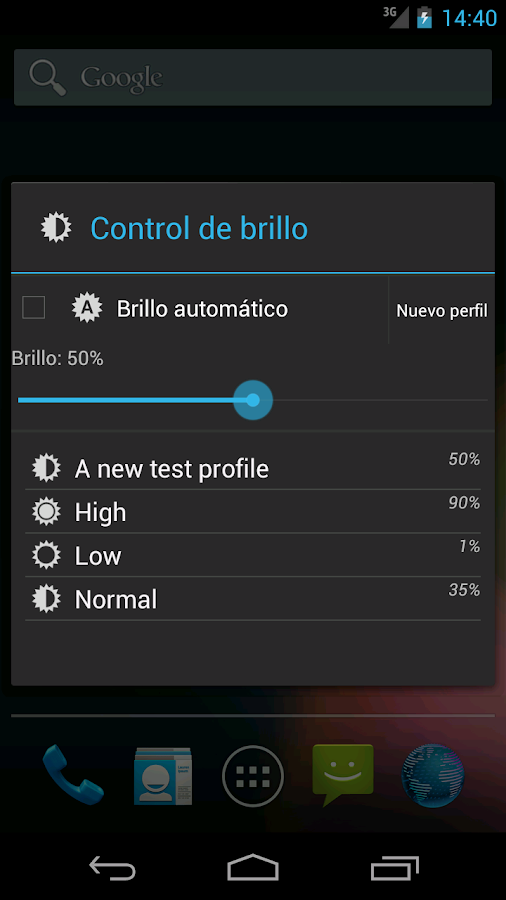 Another Brightness Profile- screenshot
