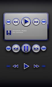 Blue Robot Poweramp Widget v.08-build-208 APK 2