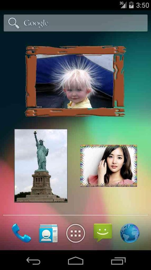 Photo Widget for Android- screenshot