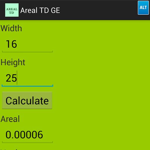 Areal TD GE