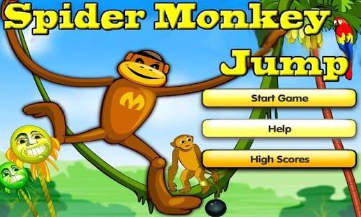 Spider Monkey Jump