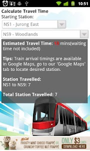 SGTrains - Singapore Apps screenshot 2