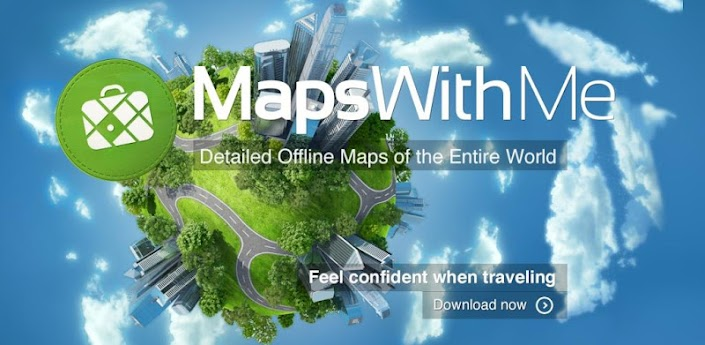 MapsWithMe Pro, Offline Maps