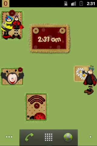 Cute Ladybugs Widgets - screenshot