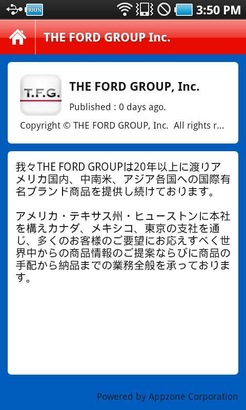 THE FORD GROUP, INC.- screenshot