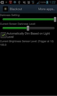 BlackouT Screen Dimmer - screenshot thumbnail