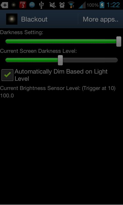 BlackouT Screen Dimmer - screenshot