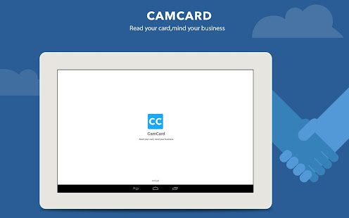 Camcard business card reader apps on google play screenshot image reheart