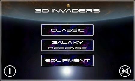 3D Invaders Beta - 3D Game Screenshot 1