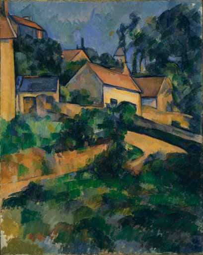 Turning Road at Montgeroult - Paul Cézanne