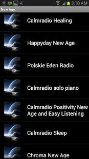 New Age Radios - screenshot thumbnail