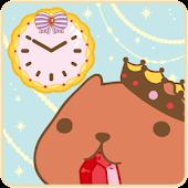 KAPIBARA-SAN Clock Widget02
