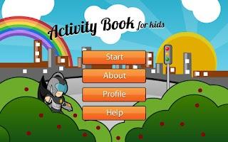 Screenshot of Activity Book for Kids