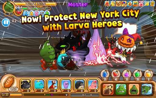 Larva Heroes: Lavengers  screenshots 6