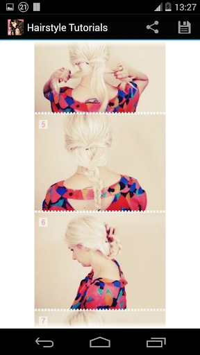 Hairstyles step by step  screenshots 6