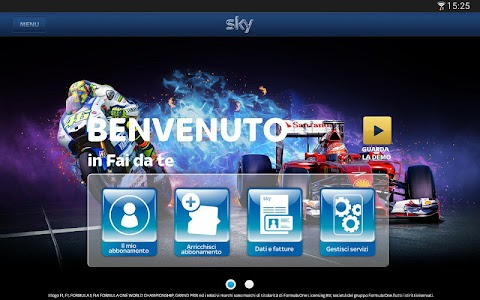 Sky Fai da te per Tablet screenshot 0