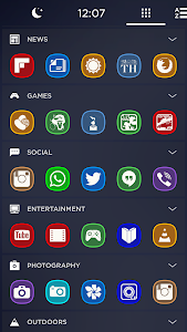 Meego Multi-Launcher Icon Pack v1.1.0