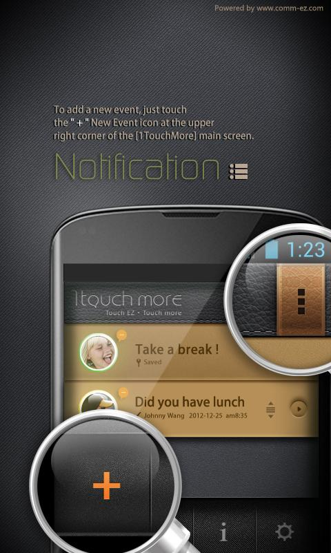 1TouchMore (Speed Dial & SMS) - screenshot