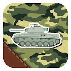 Military attack Live wallpaper icon